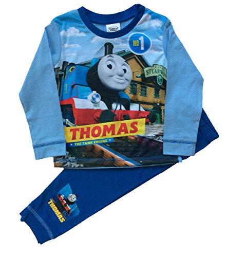 Boys Thomas The Tank Engine Pyjamas Pjs Ages 18 Months to 5 Years (2-3 Years)