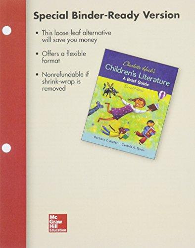 Looseleaf for Charlotte Huck's Children's Literature: A Brief Guide