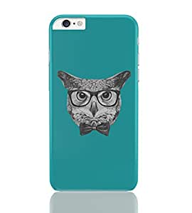 PosterGuy iPhone 6 Plus Case & Cover - Mr Owl (Blue) Illustration Animals