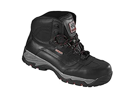 Rock Fall Tomcat Dakota Lightweight 100% Metal Free Hiker Styled Safety Boots - TC340A - Black