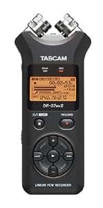 Tascam DR-07MKII Dictaphones Connexion PC, Type de Stockage: Carte Mémoire, Activation Vocale, Enregistreur MP3