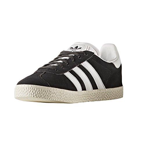 adidas Gazelle J Rosa und Blau Damenschuhe. Sneaker Dark Grey Heather/Footwear White