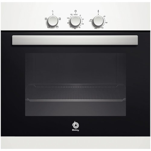 Balay 3HB503BM - Horno (68 L, 2350 W, Eléctrico, 220-240 V, 50/60 Hz, 16 A) Color blanco
