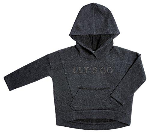 VITIVIC Flock Gris Oscuro, T-Shirt Bébé Fille, foncé, 12 Ans