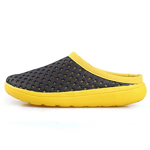 Men's Mesh Lightweight Outdoor Beach Casual Shoes yellow