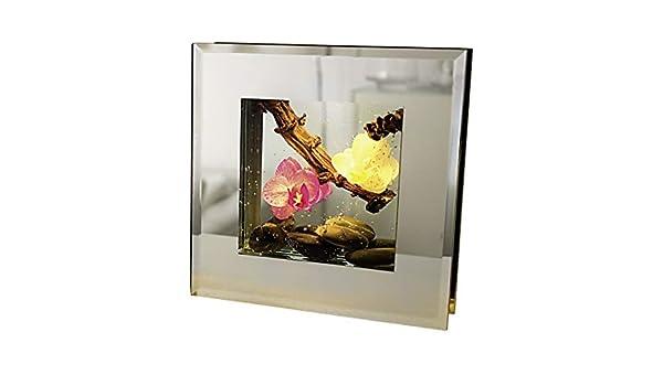 Dreamlight Montures LED Medium Bahia Pink lumi/ère Blanche et Chaude Comprenant 2 Piles Bouton 20x20 cm
