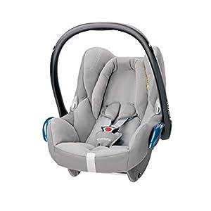 Maxi-Cosi CabrioFix Baby Car Seat Group 0+, ISOFIX, 0-12 Months, 0-13 kg, Concrete Grey   10