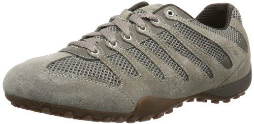 Geox UOMO SNAKE B, Sneaker uomo, Beige (Beige (TAUPE C6029)),