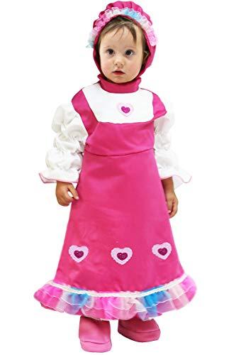 Costume di carnevale masha (2 - 3 anni)