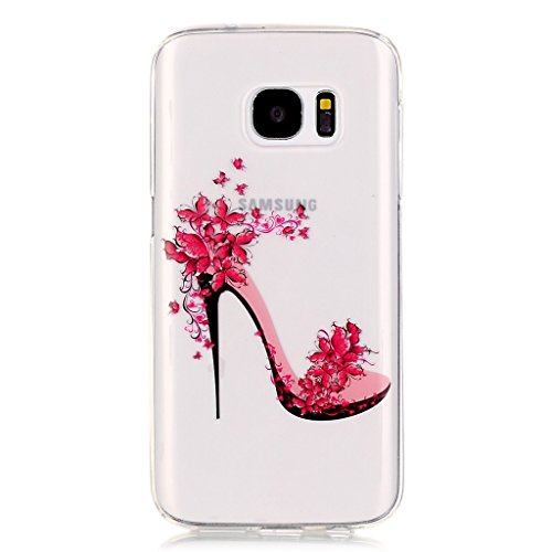 Uming® Colorful Motif d'impression Dessin Soft Cover Case TPU Cas ( Dandelion - pour IPhone 5S 5 5G SE IPhone5S IPhoneSE ) Colorful Pattern Print Coque de protection Coque de téléphone portable Case C High-heeled shoes
