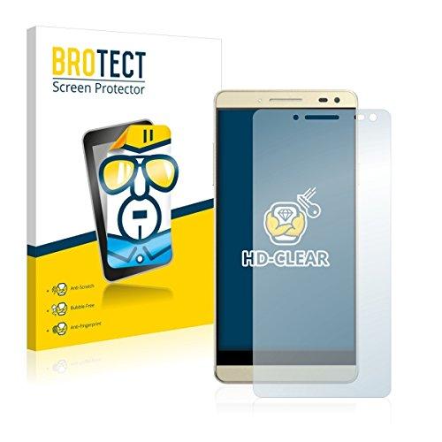 2X BROTECT HD Clear Bildschirmschutz Schutzfolie für Switel Champ S5003D (kristallklar, extrem Kratzfest, schmutzabweisend)