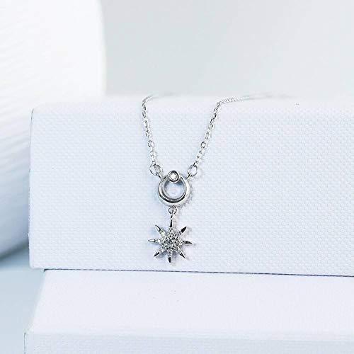 Zbeiba Exquisite Verarbeitung!Handgemachte S925 Sterling Silber weiblichen Stern Ginkgo Blatt Perlmutterfalter Anhänger