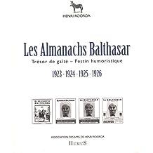 Les Almanachs Balthasar