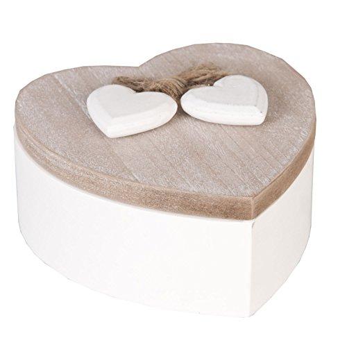 Scatola decorativa a forma di cuore