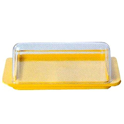 Ostprodukte-Versand.de Butterdose mit Deckel | GRATIS DDR Geschenkkarte | Ossi Artikel | Geschenkidee für alle Ostalgiker aus Ostdeutschland | DDR Produkte