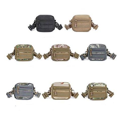 Zll/combinazione a piccole cellule per pacchetto demolizione multifunzione zaino esercito uomini e donne Lost Borsa Crossbody Borsa a tracolla, three color cp