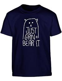 Flox Creative Children's T-Shirt Just Grin and Bear It