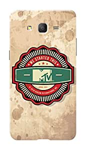 MTV Gone Case Mobile Cover for Samsung Galaxy On5 Pro