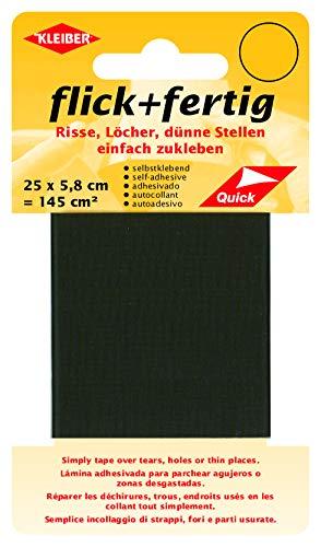 Kleiber 145 cm² Flick + Fertig Selbstklebendes Reparaturband aus Nylon, braun