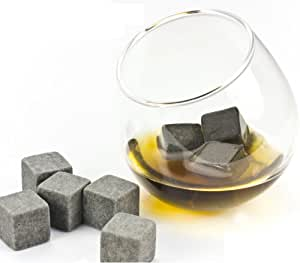 tedim� - Whisky Rocks Ice Cube Cooling Stones Made from Granite
