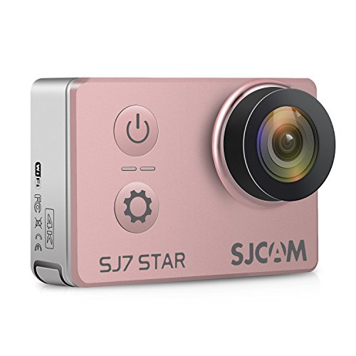"SJCAM SJ7 STAR 4K HD WIFI Action Camera 2""LCD Touch Screen Metal Body Sports Camcorder Ambarella A12S75 Sony IMX117 Underwater Waterproof Digital Camera Gyro Stabilization Gold Rose"