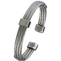 Magnetisches Armband in Stahlseilen mit Magneten preisvergleich bei billige-tabletten.eu
