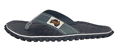 Gumbies Islanders Sandales Adulte Tongs Plage Chaussures Numéro 36 - 12 Uk Cool Grey
