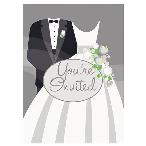 Wedding Evening Celebration Invitations, pk8