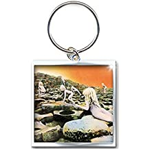 Led Zeppelin Schlüsselring Keychain Houses of the Holy Nue offiziell