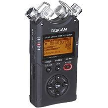 Tascam DR-40 - Grabador estéreo portátil (96kHz/24Bit o MP3 hasta 320kBit/s, con 2GB de tarjeta de memoria)