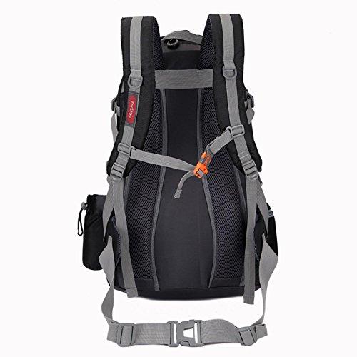 HWJDK Escursioni Daypacks Escursionismo Borsa a tracolla dello zaino Outdoor Backpacking Camping Packs per Unisex , army green Black