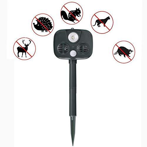 r Repeller mit 5.5V Sonnenkollektor Alarm Diebstahlsicherung Wasserdicht IPX55 Wilde Für Tiere und Schädlinge ()