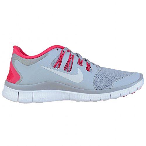Nike Free 5.0+ Women's 061 (F1) Wolf Grey/White/Pink Force