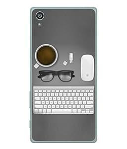 PrintVisa Designer Back Case Cover for Sony Xperia Z3Plus (Love Lovely Attitude Men Man Manly)
