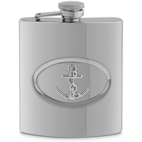 """Epic Products 5, motivo """"Anchor-Thermos in acciaio INOX, 20 ml"""