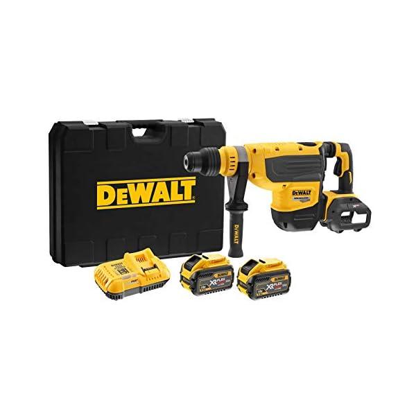 DeWALT DCH733X2-QW Akku-Kombihammer SDS-max, 54V, Schwarz/Gelb