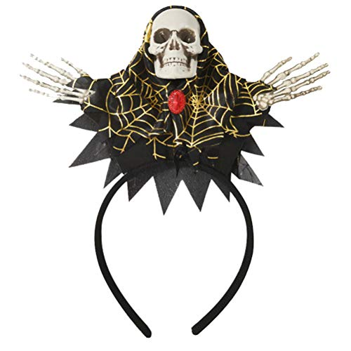 hädel Haarband Ghost Cosplay Stirnband Scary Hexe Haarschmuck Halloween Maskerade Dress-up Kostüm Party Supplies ()