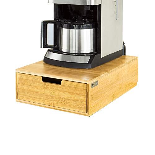 SoBuy FRG83-N Kaffeekapsel Box,Kapselspender,Schreibtischorganizer,Monitorständer,Monitorerhöhung