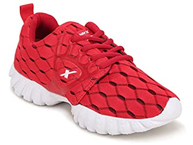 Sparx Women SL-110 Red White Sports Shoes