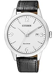 Citizen Herren-Armbanduhr Analog Quarz Leder BM7300-09A