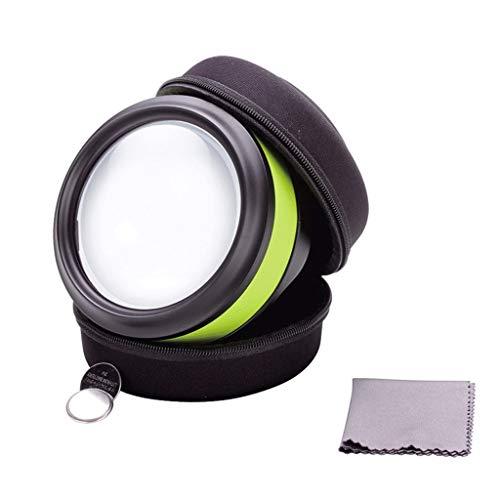 USB-Aufladung mit Leselupe, K9-Kaltlicht 90mm, Durchmesser und Lesezeitung Industrielle...