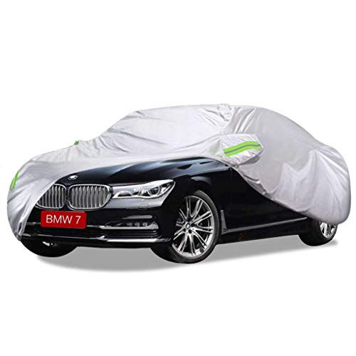 SXET-Car cover Car cover BMW 7 series Special car cover Anti-UV windproof dust protection Outdoor and rain Four Seasons anti-scratch snow