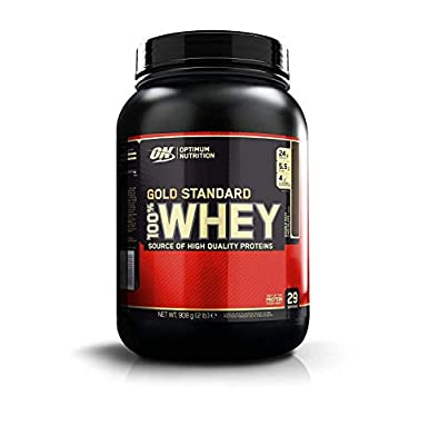 Optimum Nutrition Gold Standard Whey Protein Powder with Glutamine and Amino Acids, Protein Shake by Optimum Nutrition