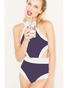 Conjuntos de Bikini Sexy adelgazar de una pieza de traje de baño Trajes de baño Trajes de baño las tendencias...