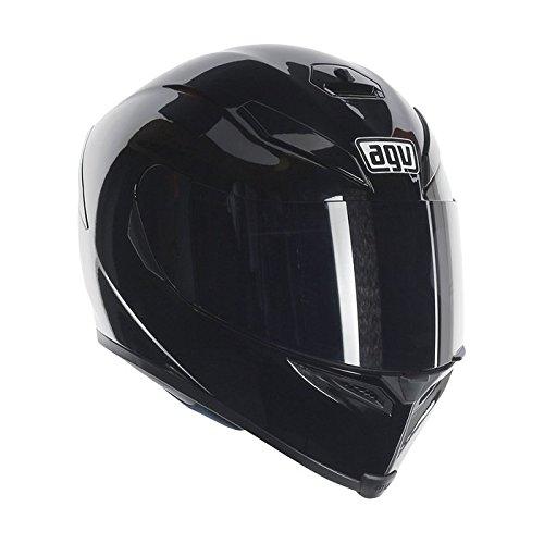 AGV K5 Sv pianura moto casco nero