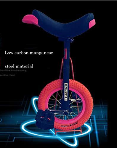Einrad Unicycle Laufradgröße 12 Zoll,Reifen Balance Radfahren Heimtrainer Fahrrad