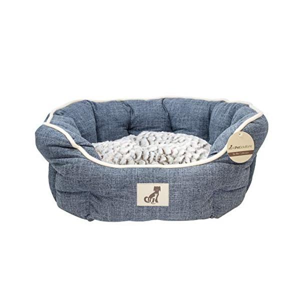 All-Pet-Solutions-Alfie-Range-Fleece-Lined-Warm-Luxury-Dog-Bed-Washable