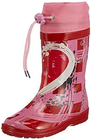 Beck Heartbreaker 542 Mädchen Gummistiefel, Rot (rot 07), EU