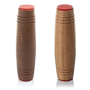 DAM-DMPM062 Pack Mokuru Roll Anti Estrés de Madera para Mejor, Color Brown/Wood (DMPM062