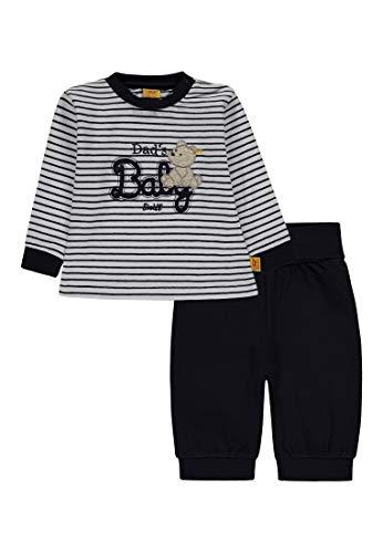 Steiff Baby - Jungen 2tlg. Schlafanzug Zweiteiliger Schlafanzug, per Pack Blau (Marine|Blue 3032), 104 (Herstellergröße: 104)